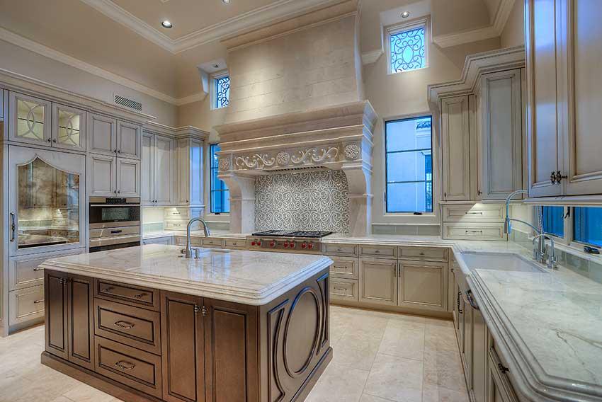 طراحی آشپزخانه شیک و لاکچری