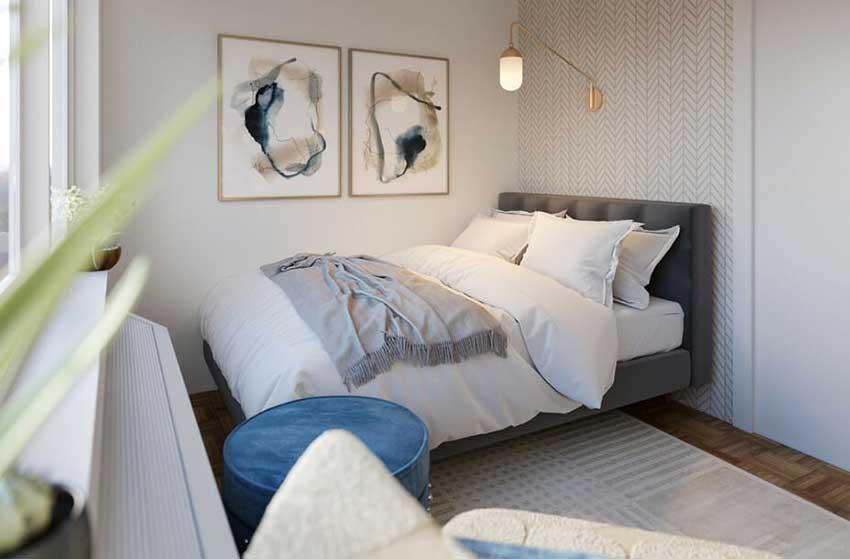 طراحی اتاق خواب ساحلی