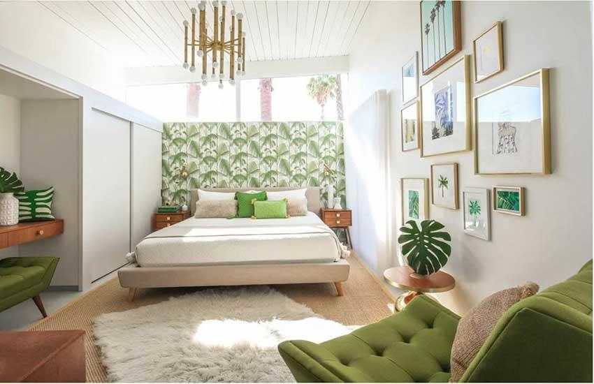 نمونه اتاق خواب سبک طراحی ساحلی