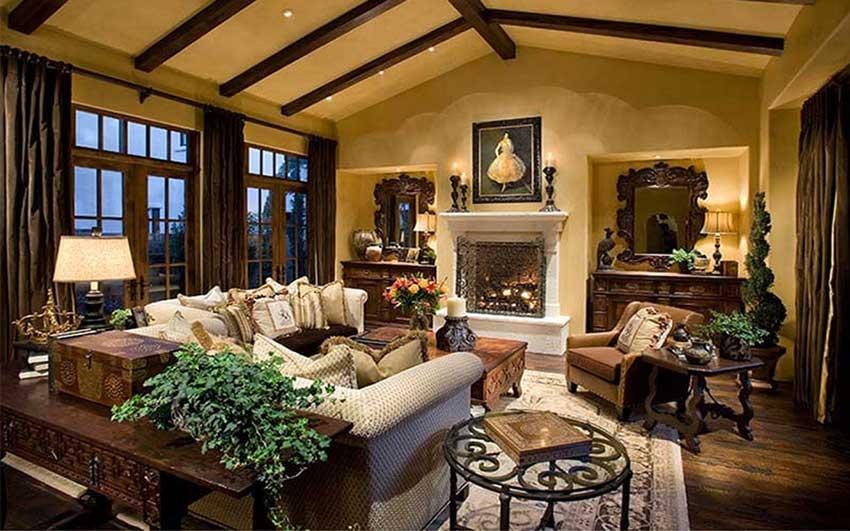آشنایی با سبک های طراحی داخلی یک نمونه به سبک سنتی